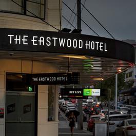 The Eastwood Hotel Signage