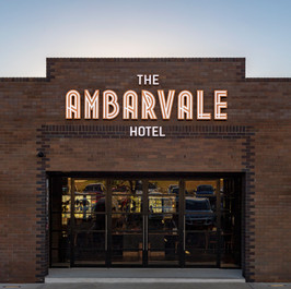 The Ambarvale Hotel Sign